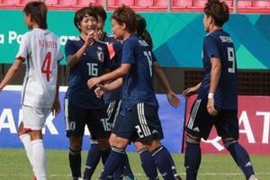 Nữ Việt Nam tan nát trước Nhật Bản tại lượt trận cuối