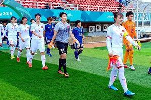Thua đậm ĐT nữ Nhật Bản, ĐT nữ Việt Nam đứng nhì bảng C
