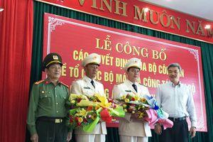 Công an TP Đà Nẵng có thêm 2 phó giám đốc