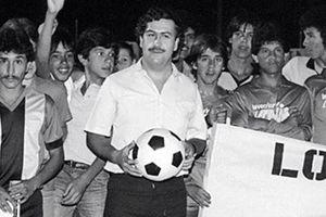 Trùm ma túy Escobar và bóng đá