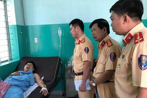 CSGT TP.HCM thông tin vụ chiến sĩ bị kéo lê gần 20 m