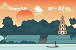Thời tiết ngày 22/8: Nắng nóng gay gắt tiếp diễn ở Trung Bộ