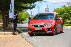 Honda Jazz đạt 4,5 lít/100 km trong bài thi tiết kiệm nhiên liệu