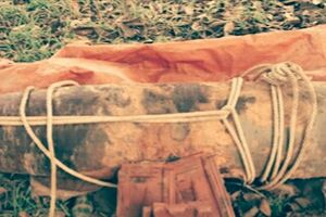 Nghệ An: Mưa làm lộ thiên một quả bom nặng 1 tấn