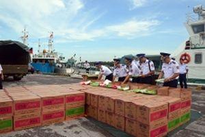 Phối hợp đấu tranh phòng, chống tội phạm, vi phạm trên biển