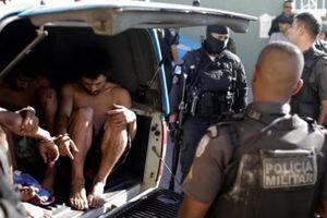 Đột kích đẫm máu vào đế chế ma túy Brazil: 13 người thiệt mạng