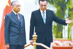 Malaysia 'nước đôi' về dự án đầu tư có vốn Trung Quốc