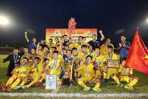 SLNA vô địch U15 Quốc gia sau cuộc 'đấu súng' cân não