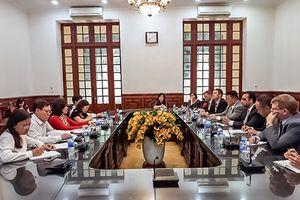 Phó Chánh án TANDTC Nguyễn Thúy Hiền tiếp Điều phối viên thực thi quyền sở hữu trí tuệ của Hoa Kỳ