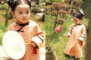 Nhóc tì người Việt hóa cung nữ Ngụy Anh Lạc khiến dân tình mê mệt vì quá đáng yêu