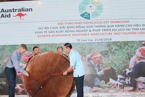 Gần 300 tỷ đồng cho thúc đẩy bình đẳng giới trong nông nghiệp, du lịch