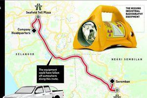 Bí ẩn vụ mất thiết bị phóng xạ tại Malaysia
