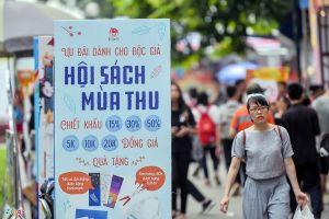 Tưng bừng khai mạc 'Hội sách mùa Thu 2018' tại Hà Nội