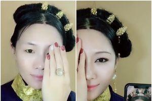 Đỉnh cao make-up: Một mình biến hóa thành cả dàn cung tần mỹ nữ Diên Hi công lược