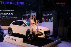 Hyundai Kona chính thức ra mắt, giá từ 615 triệu đồng