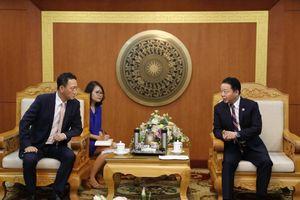 Bộ trưởng Trần Hồng Hà tiếp xã giao Đại sứ Hàn Quốc Kim Do Hyon