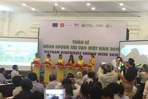 Nhiều sự kiện tại Tuần lễ Năng lượng tái tạo Việt Nam 2018