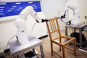 Ngắm nhìn robot thông minh lắp ghế Ikea của nhà khoa học trẻ người Việt