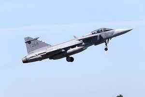 Máy bay chiến đấu Thụy Điển rơi do đâm phải chim
