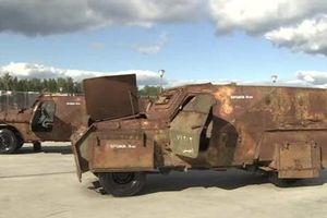 Vũ khí và thiết bị của phiến quân bị thu giữ được trưng bày tại Diễn đàn 'Quân đội 2018'