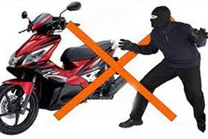 'Điểm danh' loạt chiêu trộm xe máy của kẻ gian: Ai cũng biết và xe... vẫn mất, vì sao?