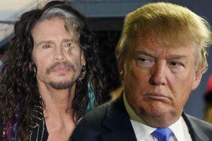 Donald Trump bị huyền thoại Steven Tyler kiện sử dụng nhạc trái phép
