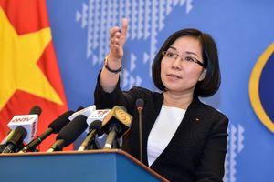 VN phản đối Đài Loan bắn đạn thật tại Trường Sa