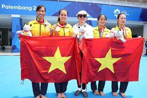 Đội tuyển rowing Việt Nam nhận gần 1 tỷ tiền thưởng sau tấm HCV