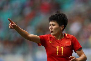 Ghi 9 bàn trong 1 trận ở ASIAD, nữ cầu thủ Trung Quốc gây chú ý