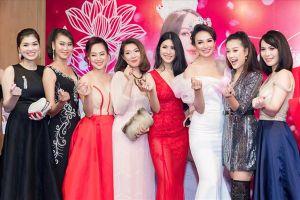 Dàn sao Việt đến chung vui cùng Hoa hậu du lịch Việt Nam Ngọc Diễm