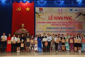 Khai mạc chương trình giao lưu thanh niên Việt - Nhật lần III - 2018