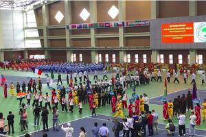 Phó Thủ tướng Vũ Đức Đam dự Giải vô địch thế giới võ cổ truyền Việt Nam
