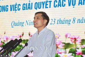 Quảng Ninh: Vấn đề khiếu nại tố cáo còn 'né' báo chí