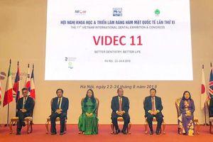 Khai mạc Hội nghị khoa học & triển lãm Răng Hàm Mặt quốc tế