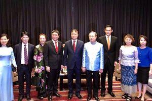 Thứ trưởng Đỗ Thắng Hải gặp xã giao Bộ trưởng Bộ Thương mại Thái Lan và Lãnh đạo Tập đoàn Central Group trong khuôn khổ 'Tuần hàng và du lịch Việt Nam tại Thái Lan năm 2018'