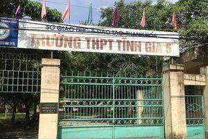 Thanh Hóa: Giải thể 5 trường THPT công lập ngay đầu năm học mới