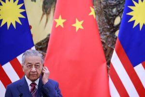 Malaysia hủy dự án với Trung Quốc do lo ngại nợ công tăng cao