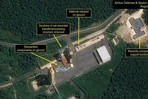 Triều Tiên ngừng tháo dỡ một cơ sở thử tên lửa