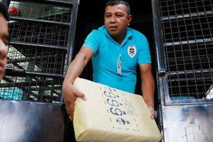 Cảnh sát Thái Lan bắt giữ lô ma túy đá trị giá 45 triệu USD