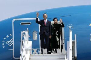 Chủ tịch nước Trần Đại Quang bắt đầu chuyến thăm cấp Nhà nước đến Ethiopia