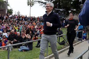 Tim Cook quyên góp 5 triệu USD cổ phiếu Apple làm từ thiện