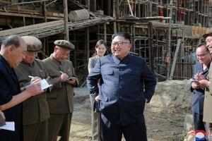 Hình ảnh mới nhất về khu thử tên lửa Triều Tiên