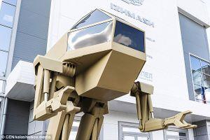 Nga giới thiệu robot tác chiến tại Army 2018