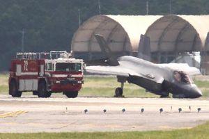 Máy bay chiến đấu F-35 của Mỹ gặp sự cố, cắm mũi xuống đất