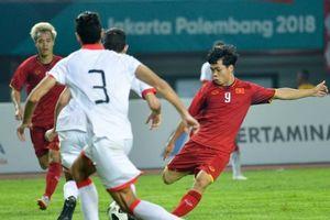 Công Phượng ghi bàn thắng quý như vàng đưa Việt Nam vào tứ kết Asiad 2018