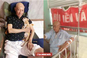 Diễn viên Lê Bình bị ung thư phổi, giới nghệ sĩ kêu gọi ủng hộ