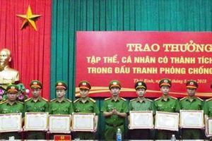 Nhiều tập thể, cá nhân Công an tỉnh Thái Bình được khen thưởng