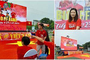 Có bản quyền ASIAD 2018, người dân Hà Nội 'mở hội' tiếp sức Olympic Việt Nam