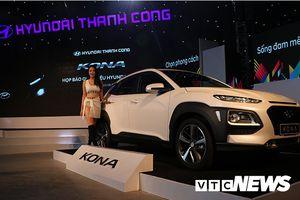 Hyundai Kona ra mắt 3 phiên bản, 6 màu, giá từ 615 triệu