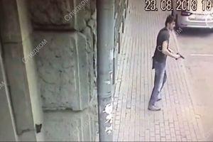 Một cảnh sát bị bắn trọng thương gần tòa nhà Bộ Ngoại giao Nga